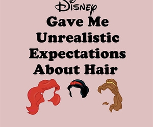disney, hair, and princess image