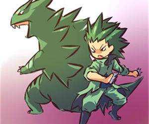 pokemon and tyranitar image