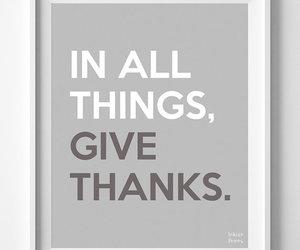 give, inspirational, and print image