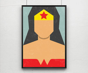 posters, wonder woman, and angela ferrara image