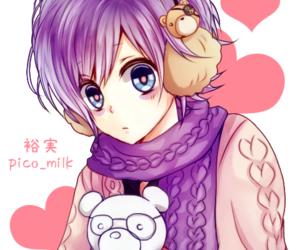 anime, boy, and love image