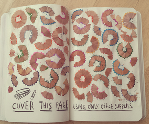 colors, crayons, and wreck this journal image