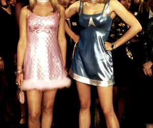 romy and michele and 90s image
