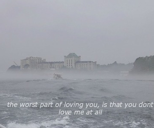 love, quote, and sad image