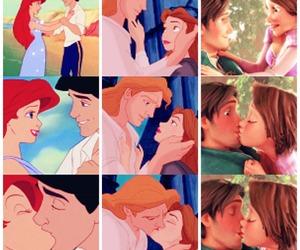 ariel, rapunzel, and belle image