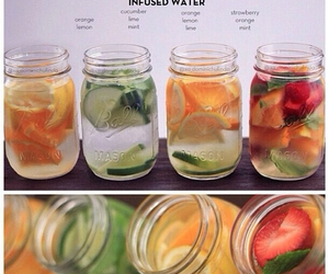 thinspo, healthy drinks, and water image