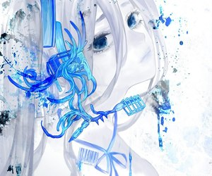 anime, vocaloid, and blue image