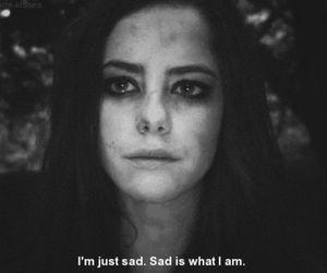 sad, skin, and Effy image