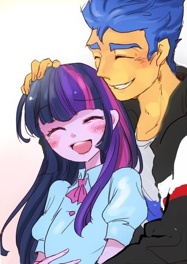Twilight Sparkle And Flash Sentry My Little Human Pinterest