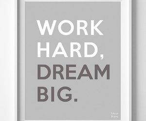 big, Dream, and hard image