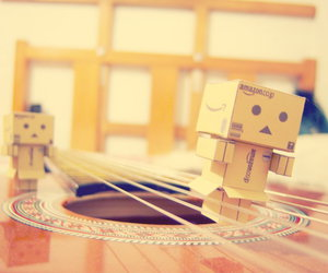 danbo, strings, and guitar image