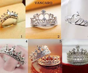 crown, jewellery, and ring image