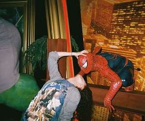 kiss, spider man, and spiderman image