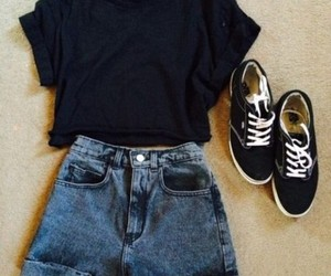 jeans, shoe, and shoes image