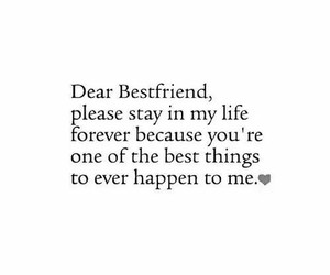 best friend, quotes, and forever image