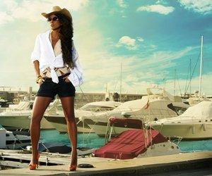 beautiful, boat, and Hot image