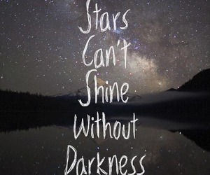 Darkness, hope, and quotes image
