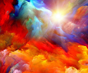 colors, sky, and clouds image