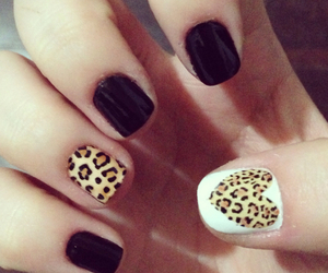 black, nails, and roar image