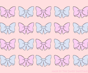 wallpaper, background, and bows image