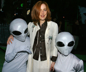 aliens and gillian anderson image