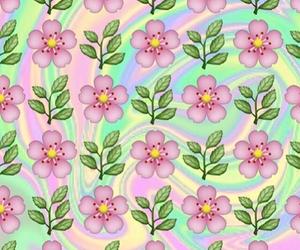 flowers, emoji, and background image