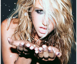 kesha, ke$ha, and glitter image
