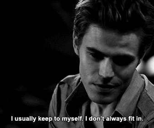 the vampire diaries, paul wesley, and quote image