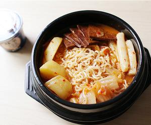 food and korea image
