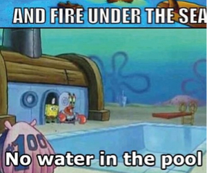 cartoon, funny, and spongebob image