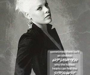 P!nk and quote image