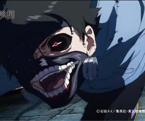 anime, toukyou kushu, and kaneki ken image