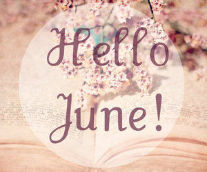 june, hello june, and summer image