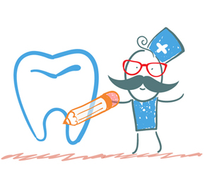 dentist, dental clinic, and teeth whitening image