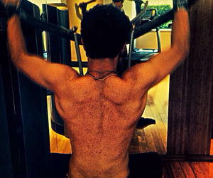 Hot, tristan evans, and working out image
