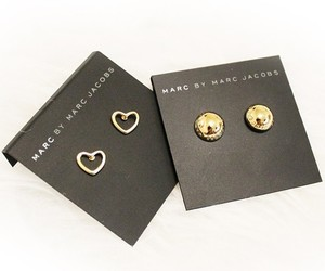 gold, heart, and marc jacobs image
