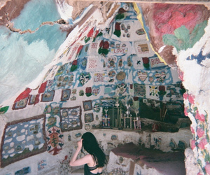 art, painting, and salvation mountain image