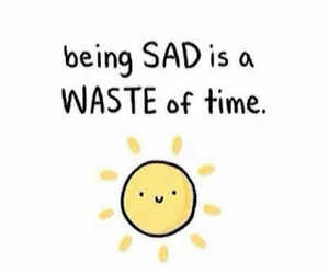 happy, sad, and sun image