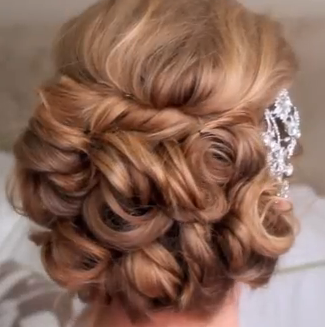 Classic Bridal Updo Hair Style Tutorial On We Heart It