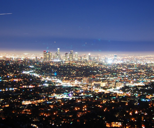 la, view, and los angeles image