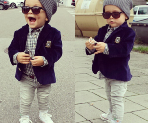 baby, boy, and style image