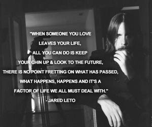 jared leto, quote, and thirty seconds to mars image