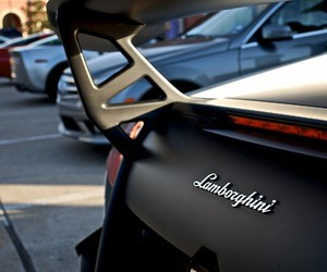Lamborghini, car, and black image