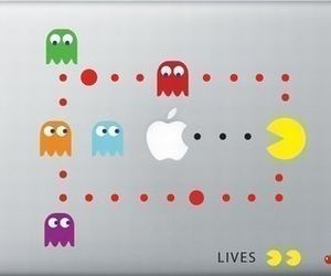 Pac Man and sticker image