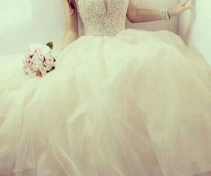amazing, stunning, and wedding dress image