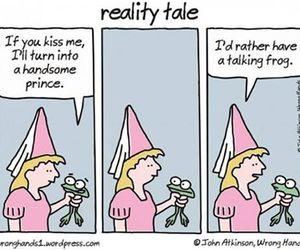 princess, funny, and frog image