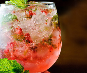 drink, cocktail, and ice image