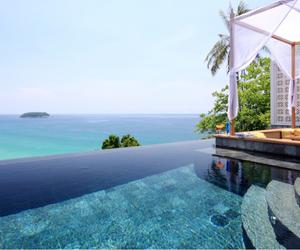 sea, summer, and pool image