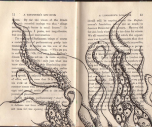 book and octopus image