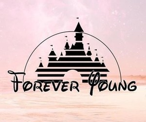 disney, young, and forever image